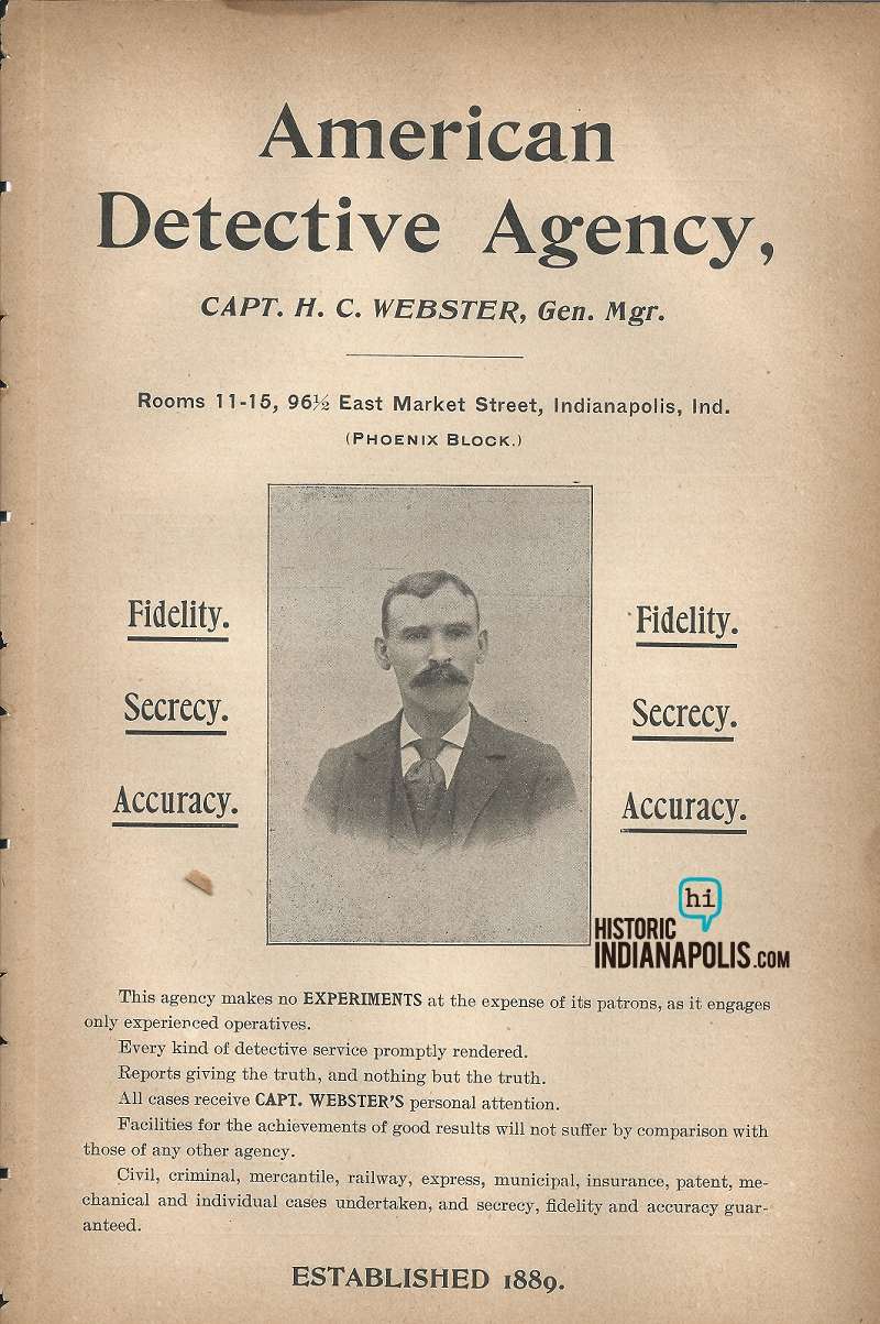 Sunday Ads: American Detective Agency