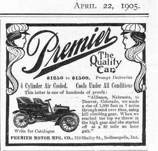 1905 Premier ad