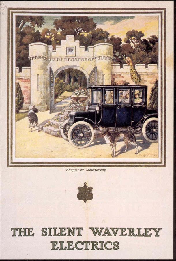 1912 Silent Waverley ad
