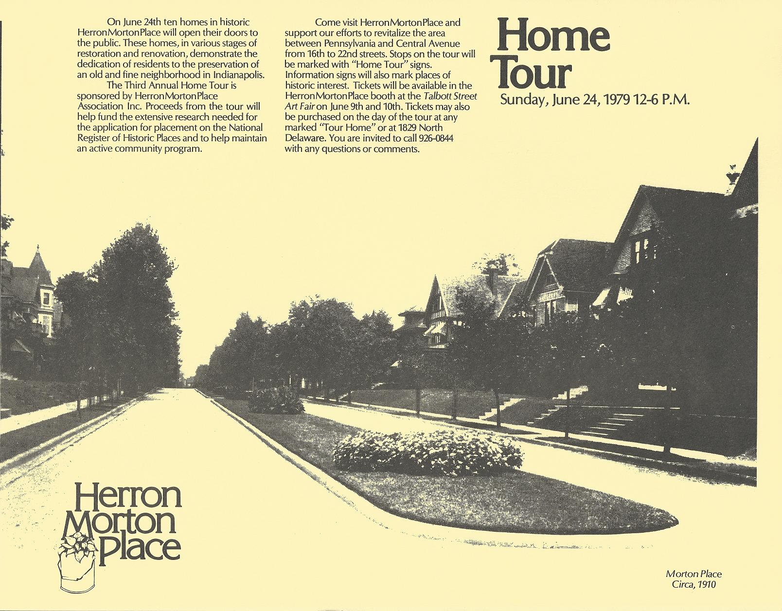 Sunday Ads: Herron-Morton Place Home Tour