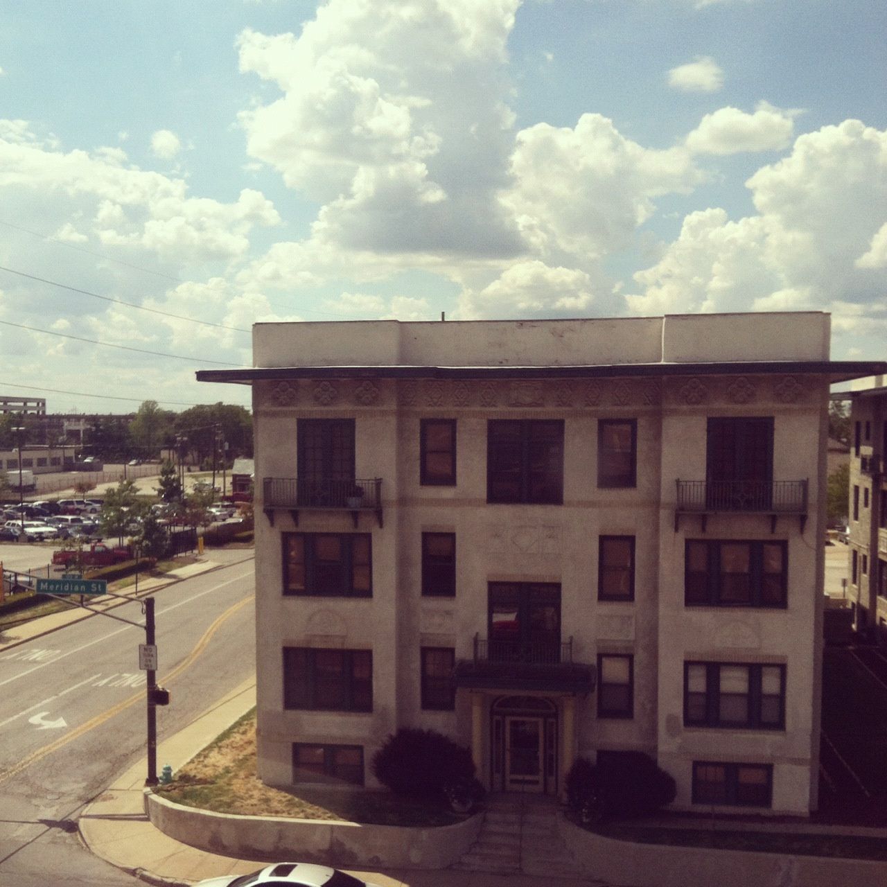 Room With a View: Meridian at 21, St. James
