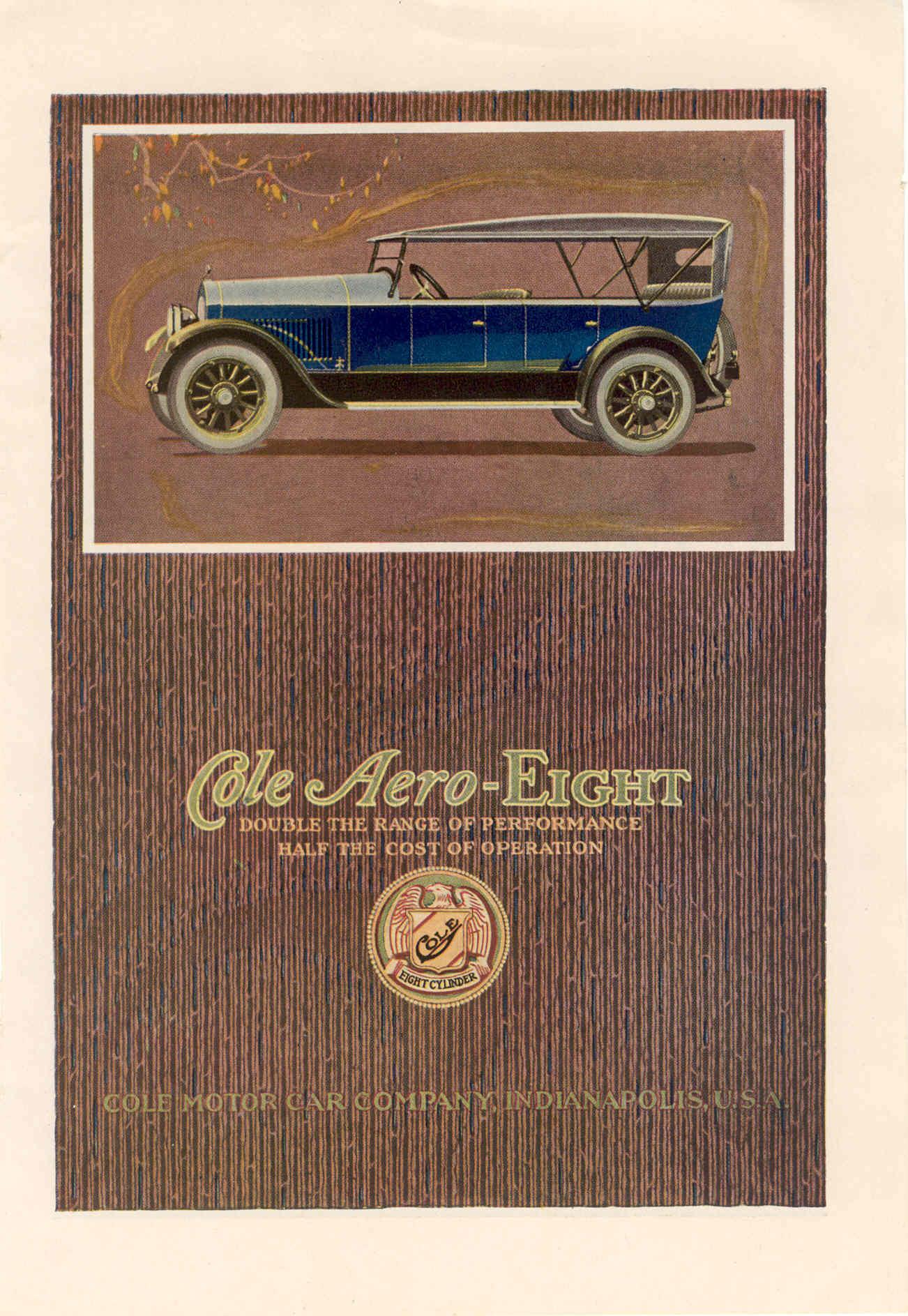 Happy Birthday to the Cole Motor Car Company