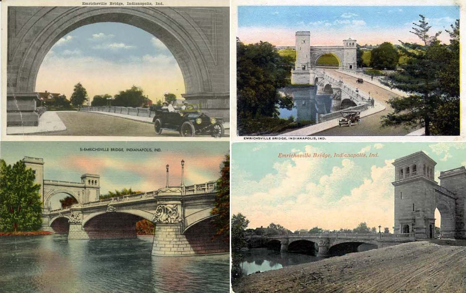 Indianapolis Collected: The Bridges of Marion County