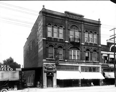 Indianapolis Then And Now: IOOF Lodge And John Koch Furniture / Interstate  65 70
