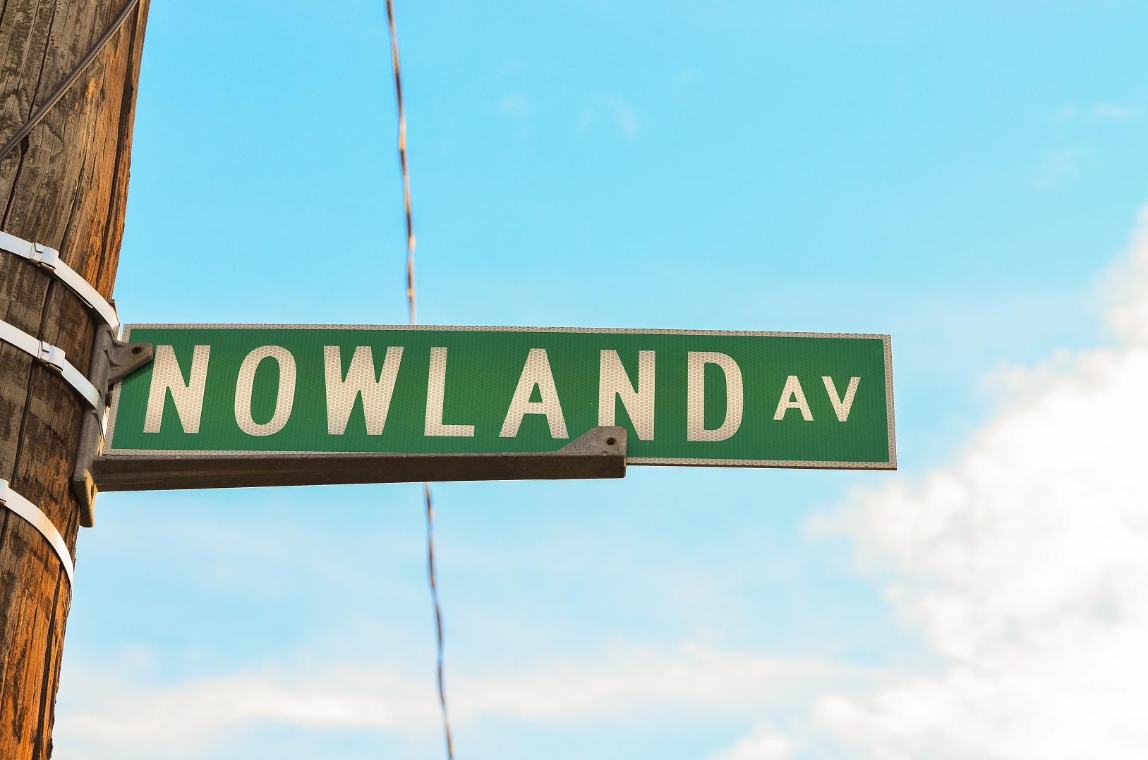 What's in a Name: Nowland Avenue