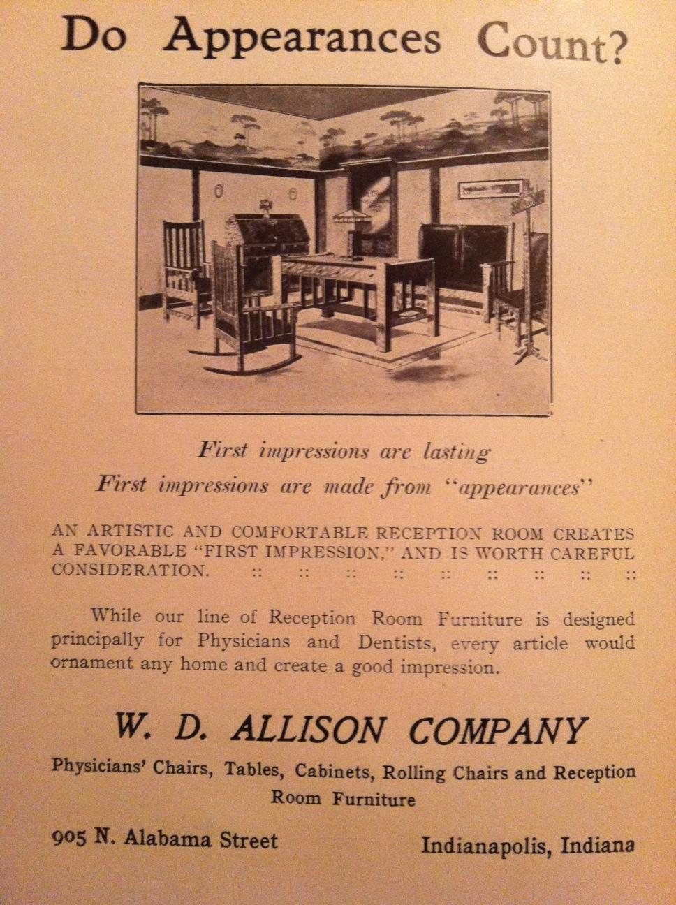 Sunday Adverts: Mission Style Furniture