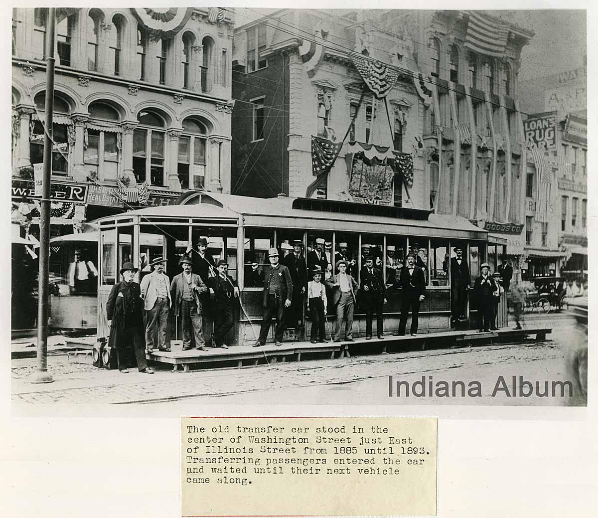 Indianapolis Then and Now: West Washington Street