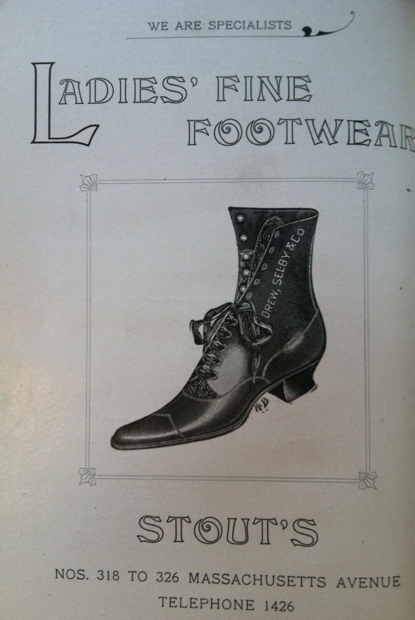 Sunday Adverts: Stouts Shoes, 1898