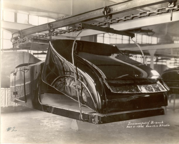 Ford Indianapolis Body Drop