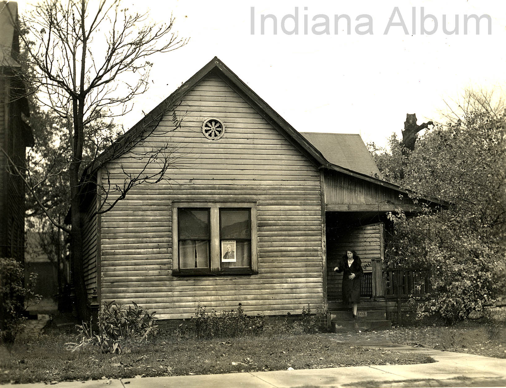 Indianapolis Then and Now: The Ryan/Gasaway Home, 1103 E. 9th Street
