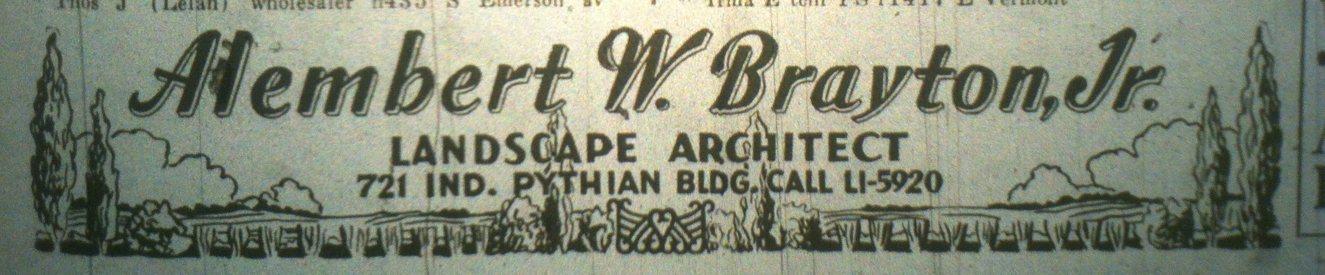 Sunday Ads: Landscape Architect