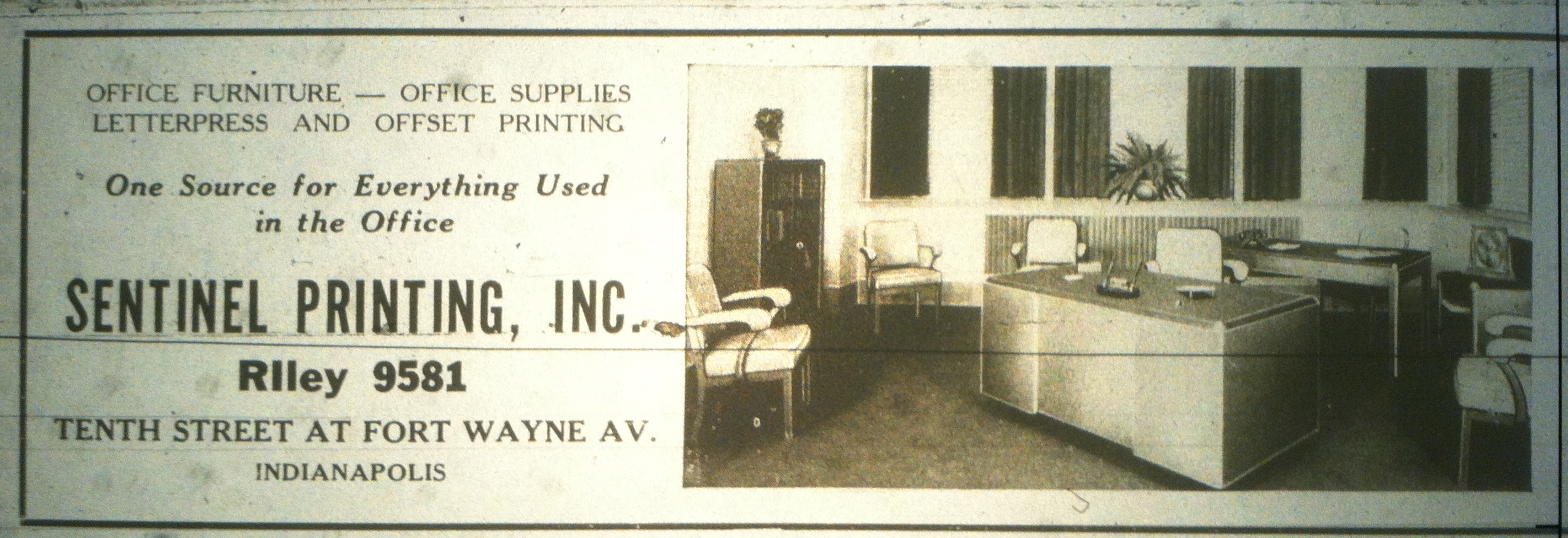 Sunday Ads: Mid-Century Modern Office