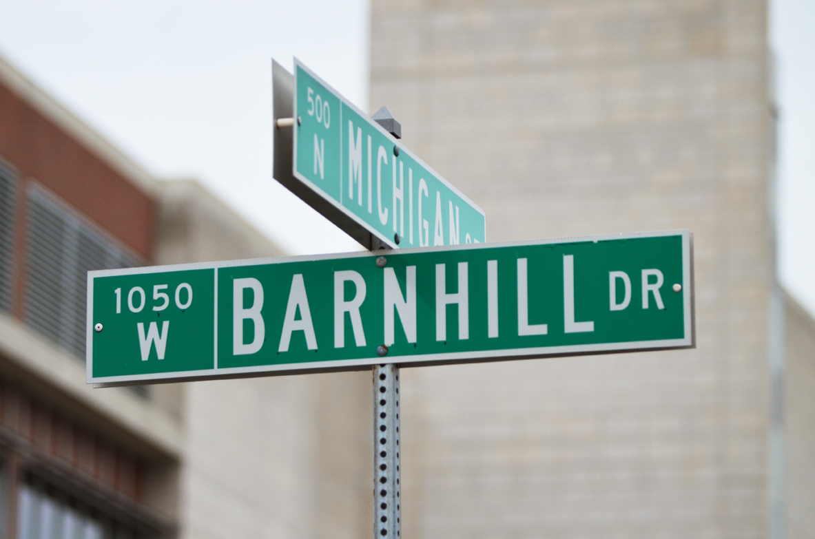 What's in a Name: Barnhill Drive