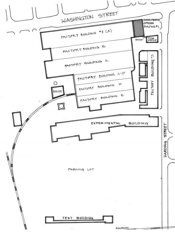 Duesenberg Site Plan