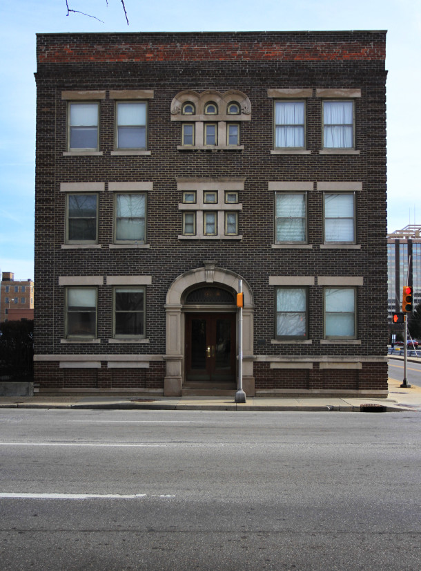 Sylvania facade on Pennsylvania Street, 2013, (c) photo by Kurt Lee Nettleton
