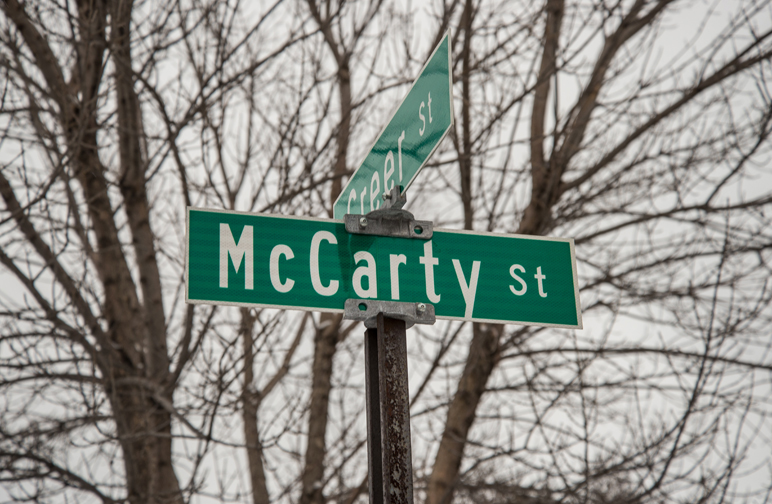 What's in a Name: McCarty Street