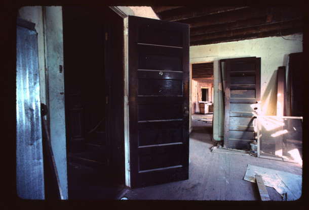 Renovation on Sylvania, early 1980's, IHPC Slide Collection