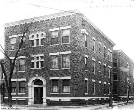 Sylvania ca. 1908, courtesy Bass Photo Co Collection, Indiana Historical Society
