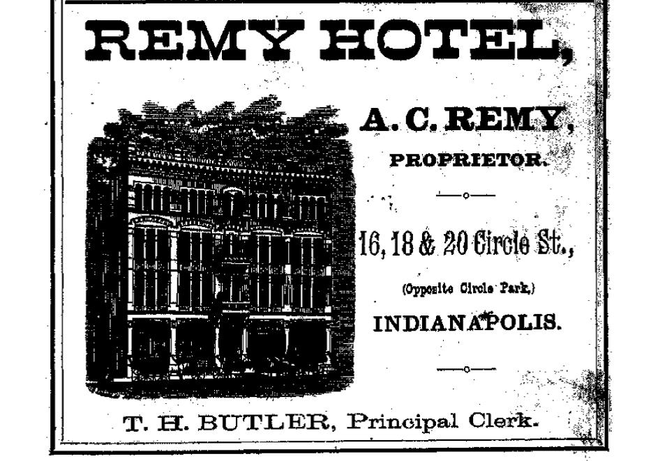 Sunday Adverts: The Remy Hotel