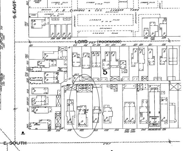 1898 Sanborn map