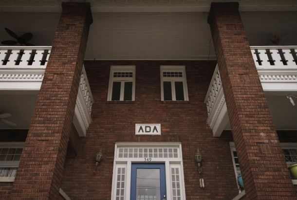Window and doorway detailing of Ada, 2013, (c) photo by Kurt Lee Nettleton