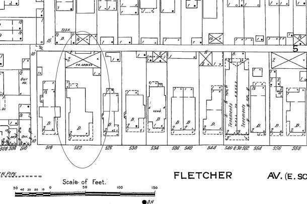 1914 Sanborn map