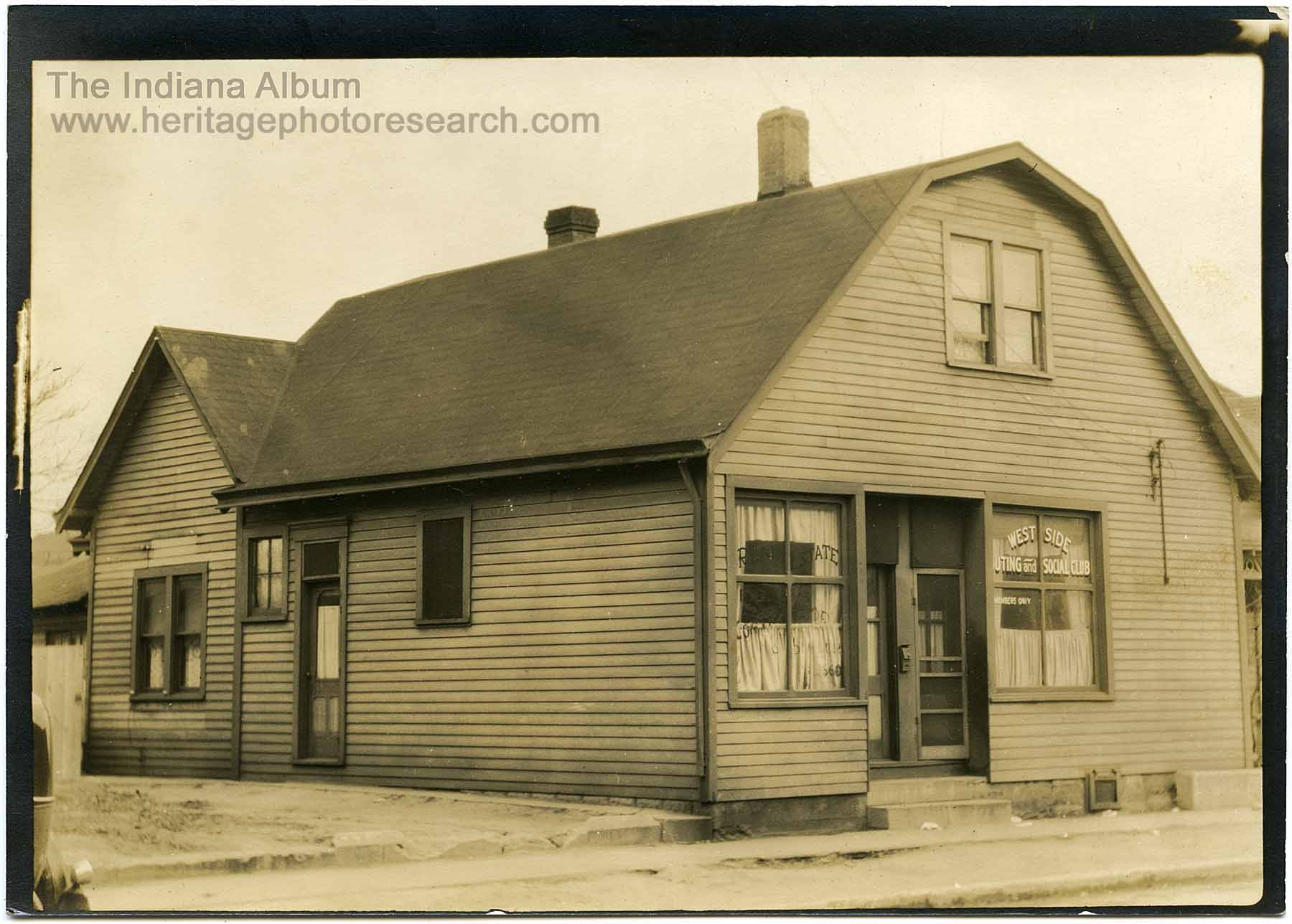 Indianapolis Then and Now: Westside Outing and Social Club, 710 N. Warman Avenue