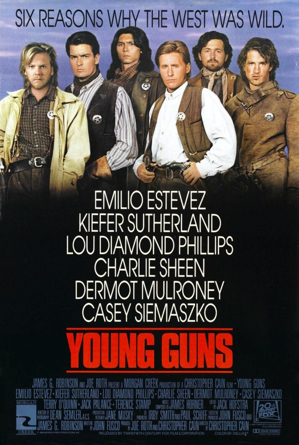 Young Guns. Better than Young Guns 2, still not a documentary.