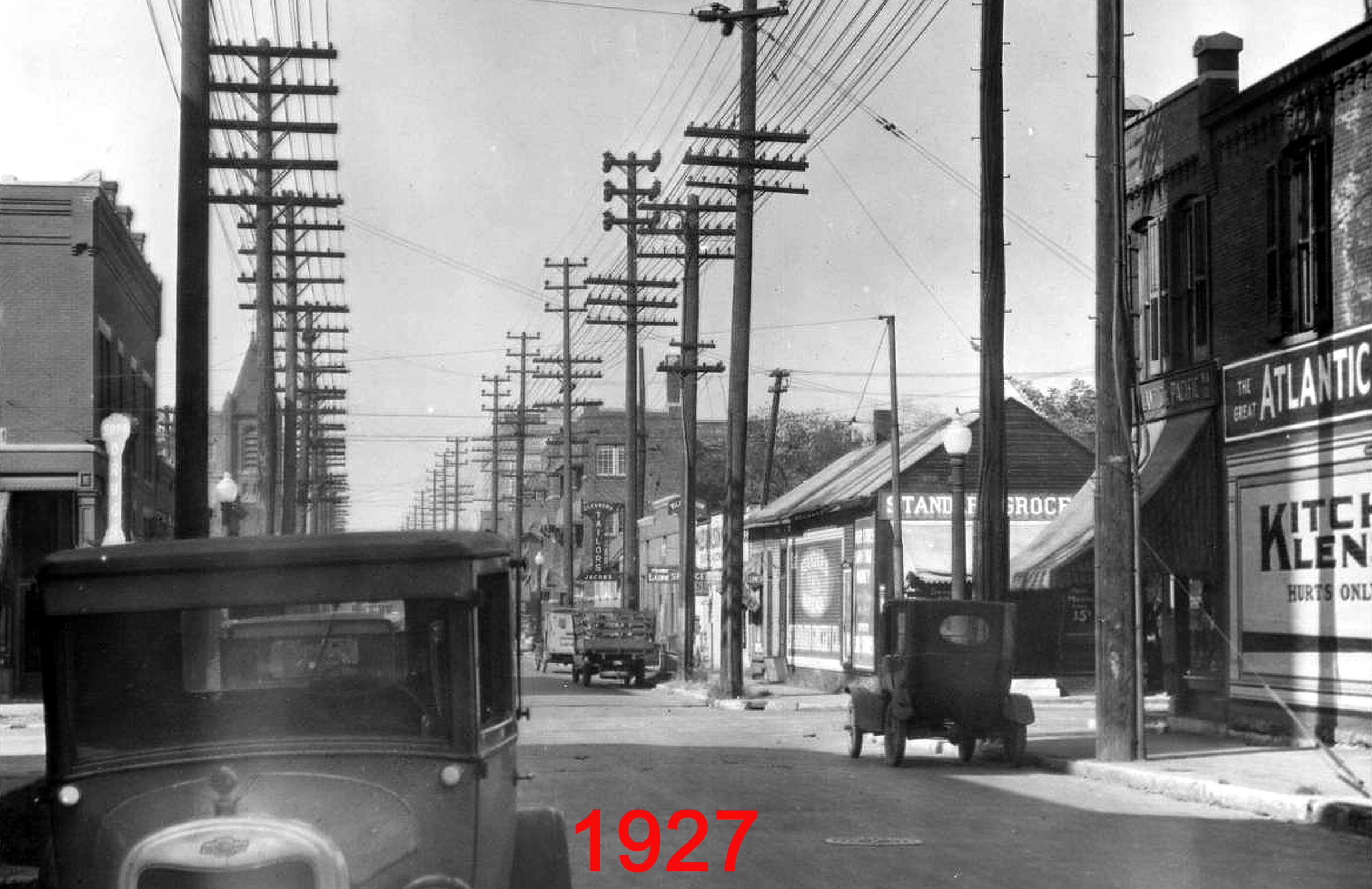 Indianapolis Then and Now: 200 block of E. 16th Street