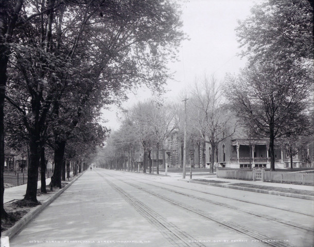 1904 Street View of N. Pennsylvania Street does not indicate what block it is (photo courtesy of Aaron Rambo )