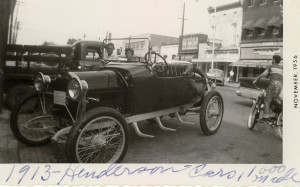 1913 Henderson Roadster (photo courtesy of Henderson, Kentucky)