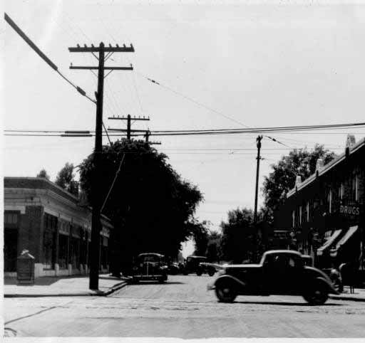 Indianapolis Then and Now: 52nd and College