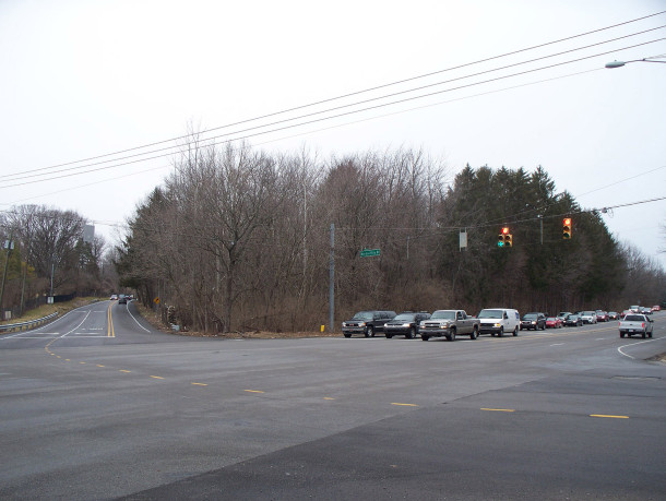Wooded property on the northeast corner of Meridian Street, Meridian Hills Boulevard, and 71st Street has long intrigued motorists