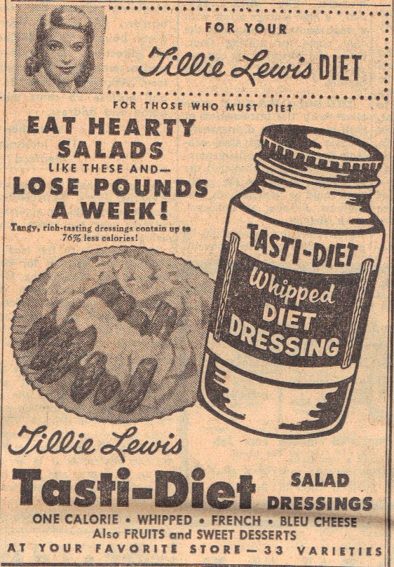 Sunday Adverts: Tasti-Diet