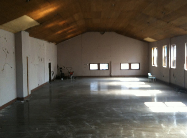 Gymnasium space from 2010 IndySquared listing - Photo by Sandra Jarvis