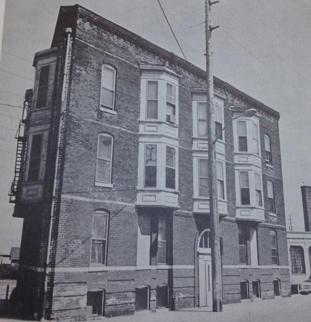 College Avenue facade, IHPC, ca.1970's