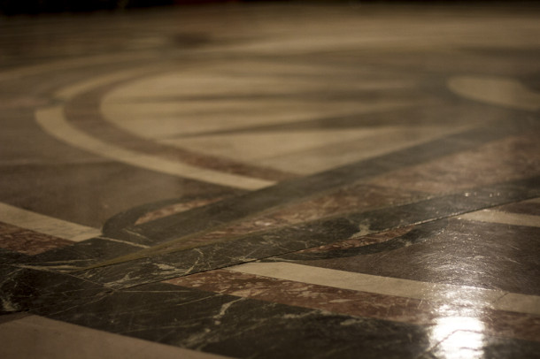 Marble floor, 2013, (c) photo by Kurt Lee Nettleton