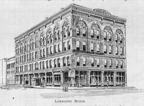 Sketch from Indianapolis Illustrated of 1893
