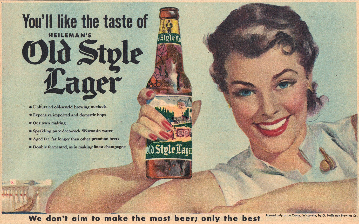 Sunday Adverts: Old Style Lager