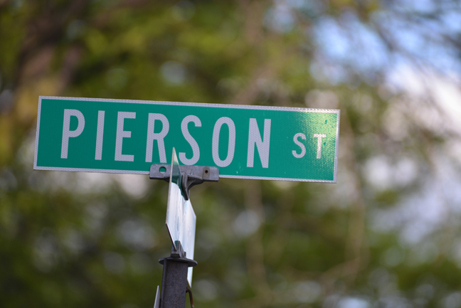 What's in a Name: Pierson Street
