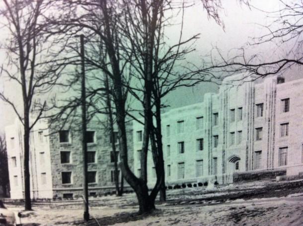 Schwitzer Hall 1956
