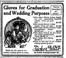 Sunday Adverts: Tucker Glove Company