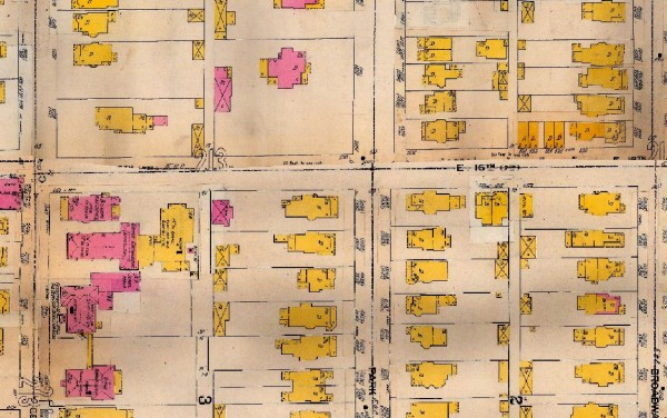 Newer home constructions, including 1564 N. Park Ave., appear on the 1898 Sanborn Map. The Gladden-Stempfel home also had an accompanying brick carriage house.