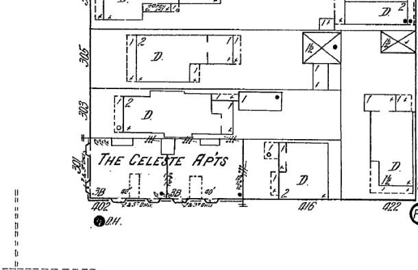 Sanborn map, 1914