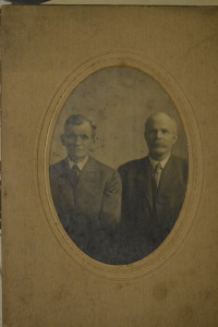 Right: Marge's maternal grandfather and Indianapolis native, William Ward.