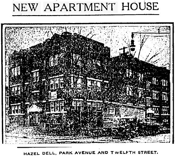 Hazel Dell, IndyStar, 11/25/1917