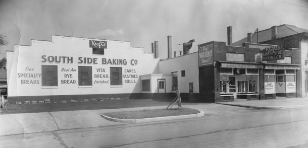 Kraft's South Side Baking Company during World War II, Courtesy of IUPUI Universary Library, Neighborhood of Saturdays Collection