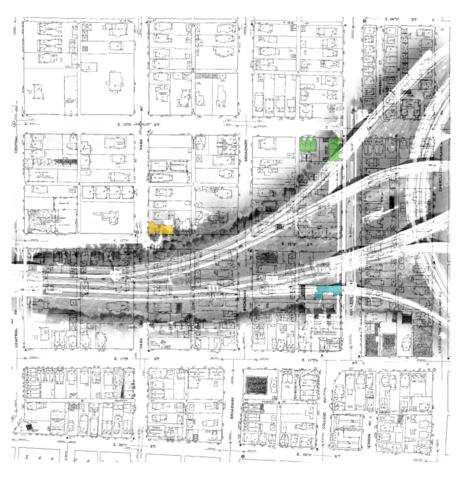 Flats Lost: I-65 Construction