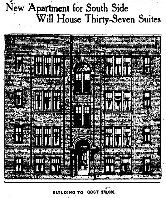 Pinex Courts, IndyStar, 4/19/1919