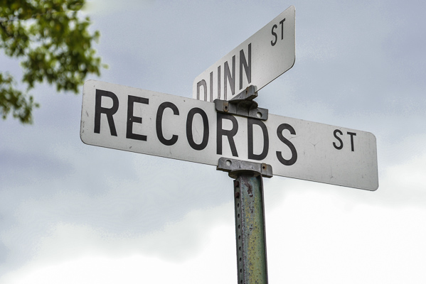 What's in a Name? – Records Street